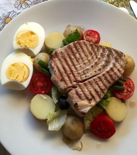 Tuna Steak and Salad | by Smabs Sputzer (1956-2017)