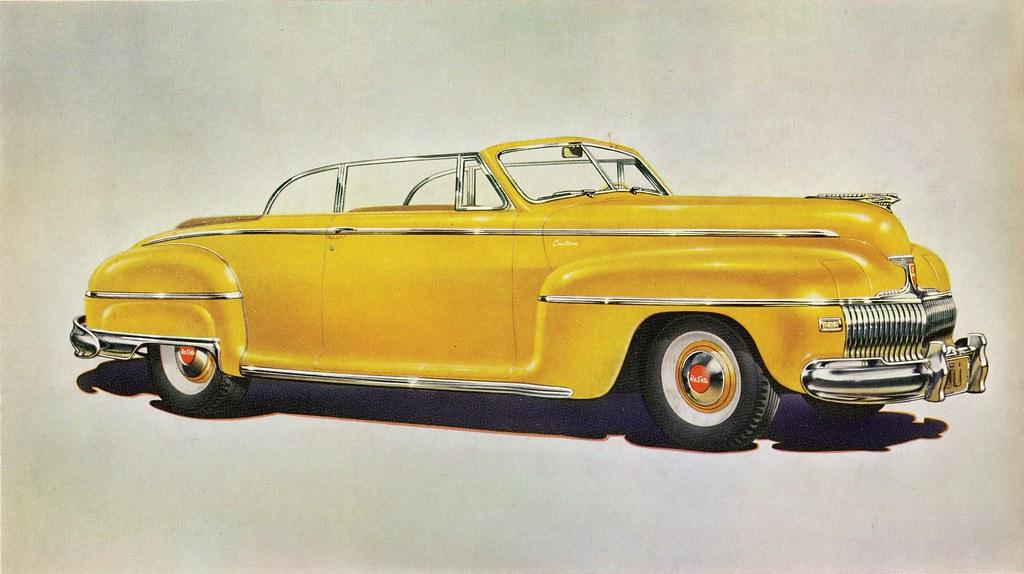 1942 DeSoto Custom Convertible Club Coupe