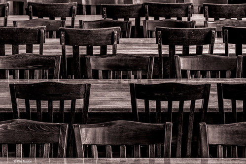 Chairs in Knox College - Doors Open Toronto | by Phil Marion
