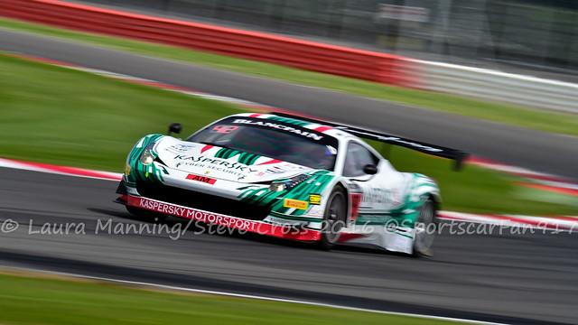 Kaspersky Motorsport - Garry Kondakov/Alexander Moiseev/Riccardo Ragazzi - Ferrari 458 Italia (Blancpain GT Series - Endurance Cup)