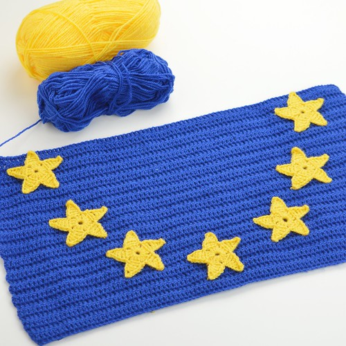 EU Flag | by Crochyay Lucy