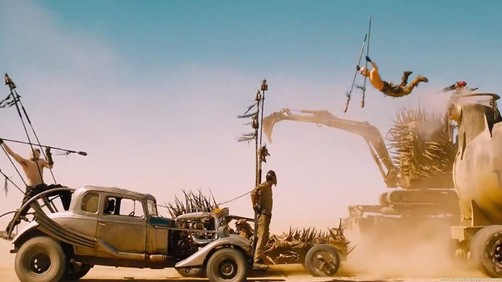 Mad Max Fury Road Movie Scene Hd Wallpaper Stylish Hd Wa