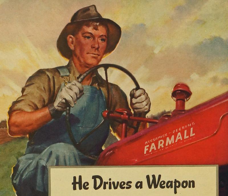 CM069 1944 International Harvester Ad Framed DSC04403 crop