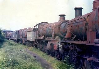 FC001556.  6984  Barry Docks.  28-05-1975.