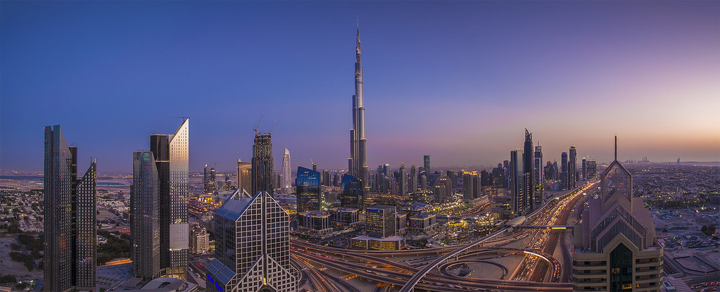 Burj Khalifa at Dusk