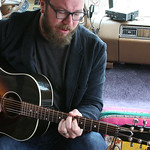 Sat, 21/03/2015 - 1:13pm - Ben Ottewell of Gomez fame joins WFUV to perform 'Rattlebag' at the Hotel San Jose, 3/21/15. Photo by Laura Fedele