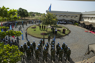 Commemoration Ceremony and Parade on the occasion of the International Day of United Nations Peacekeepers | by UNMISS MEDIA
