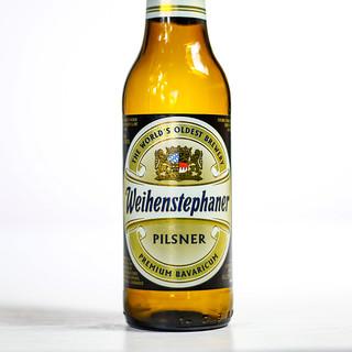 Pilsner Showdown Beers - Bayerische Staatsbrauerei Weihenstephan - Weihenstephaner Pils | by fourbrewers