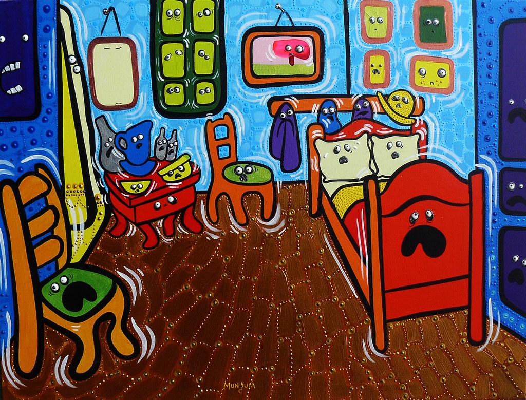 Panic Room | Basado en el Cuarto de Vincent Van Gogh | Famous ...