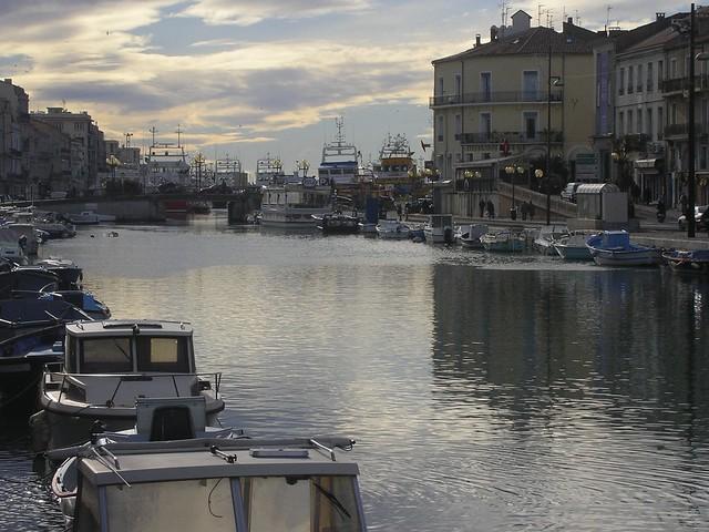 Un dels molls - Sète