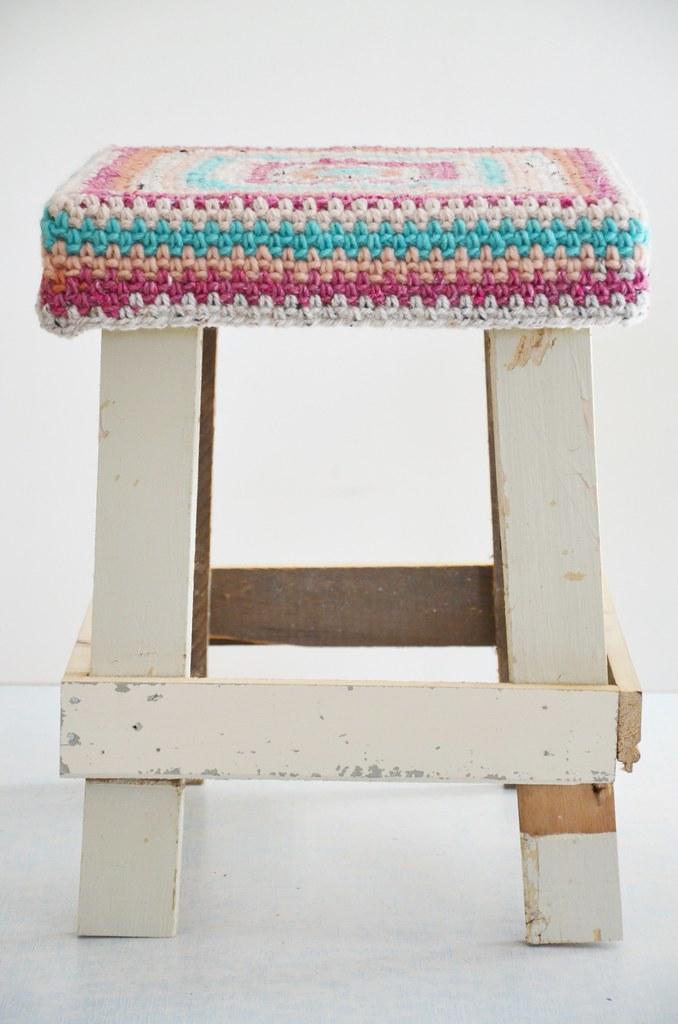 Groovy Wood Wool Stool Ingrid Jansen Flickr Pdpeps Interior Chair Design Pdpepsorg