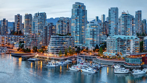 park city blue light sunset sky panorama canada west reflection building green tower water skyline vancouver clouds creek canon landscape photography coast boat downtown cityscape waterfront pacific northwest towers sigma columbia calm hour 1750 british condos false 60d