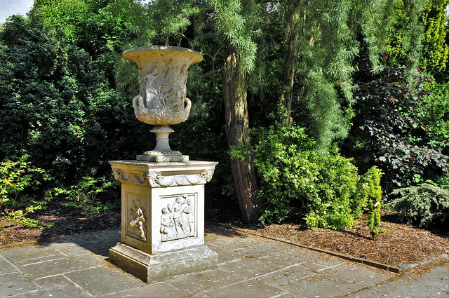 Replica Of The Medici Vase With A