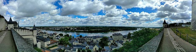 Panorama - Chateau de Saumur