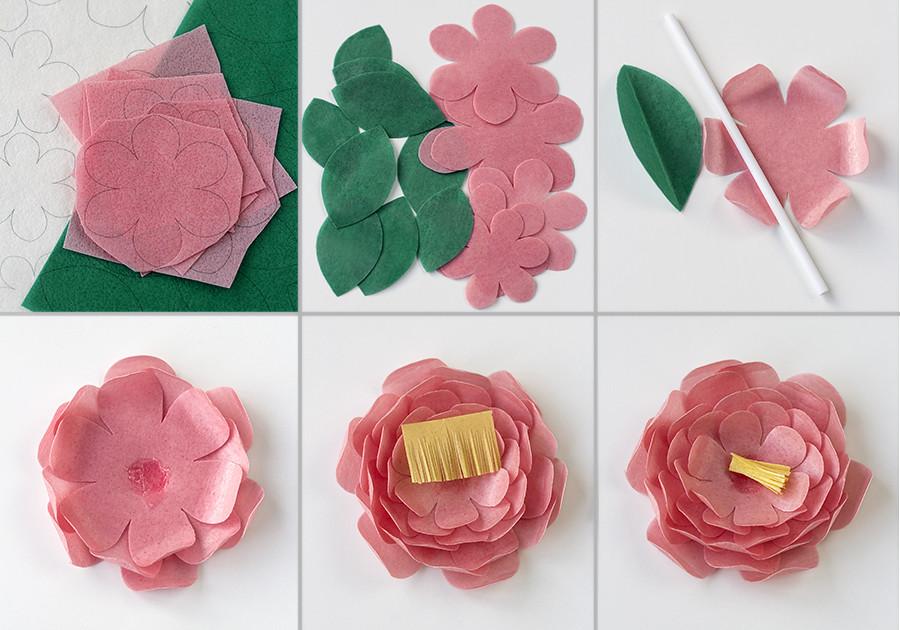 Tutorial flores de oblea