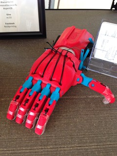 3D printed hand | by Anetq
