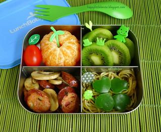 St. Paddy's Day Green Bento! | by sherimiya ♥