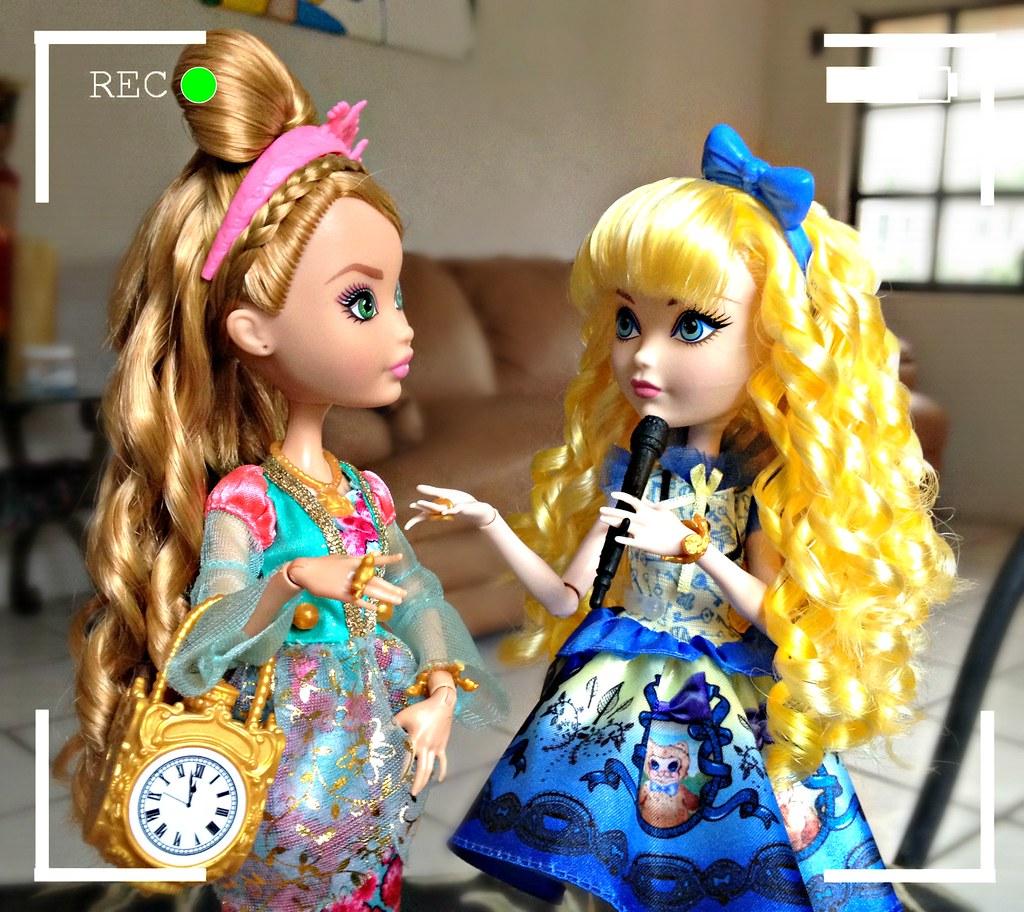 Ashlynn just right - with ashlynn ella   blondie: [to the camera] bl