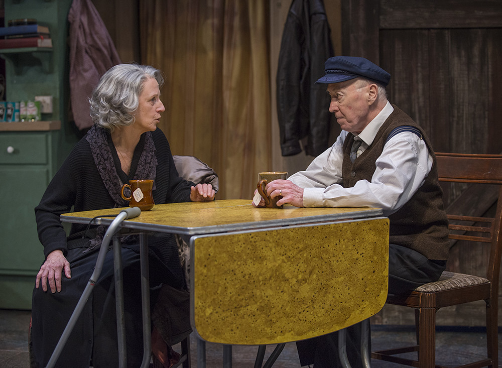 Annabel Armour (Aoife) and William J Norris (Tony)