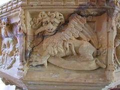 font: St Mark's winged lion
