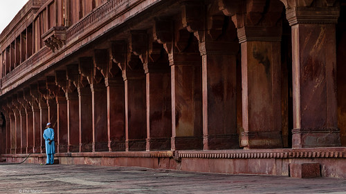 Leisurely stroll in Fatehpur Sikri | by Phil Marion (177 million views - THANKS)