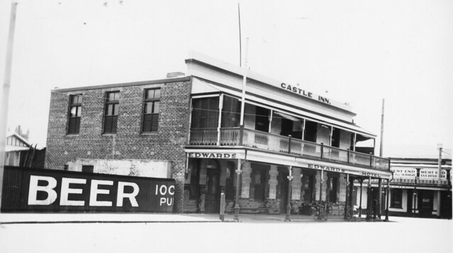 Castle Inn, Hindley Street, Adelaide,  1938