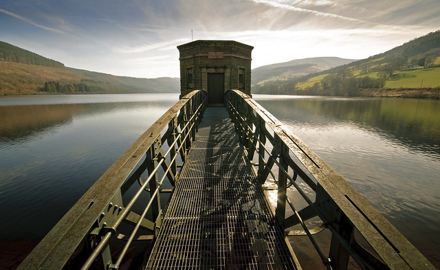 Talybont Reservoir ( 23 March 15 explored )