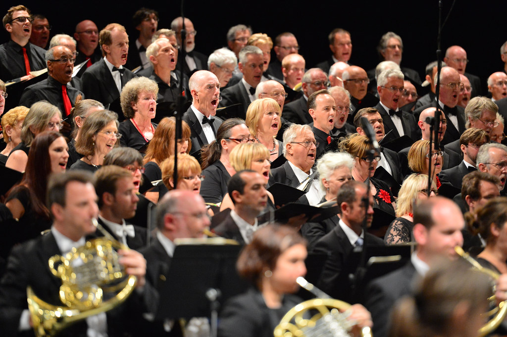 Royal Opera House Thurrock Community Chorus © ROH, 2014. Photo by Brian Slater.