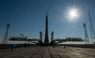 Expedition 43 Soyuz Rollout | by charlywkarl