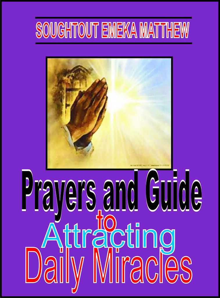 PRAYER AND GUIDE TO ATTRACTING DAILY MIRACLES  | In this e-b