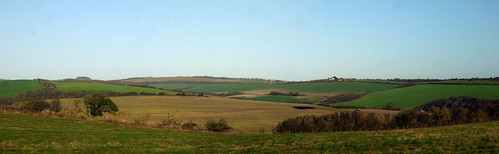 winter sussex chalk december sunny kingston eastsussex southdowns