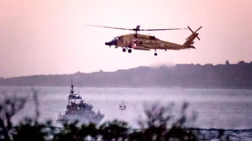 sunset coastguard evening coast wasser harbour dusk aircraft transport photojournalism shore marthasvineyard lobsterville aquinnah rescueatsea