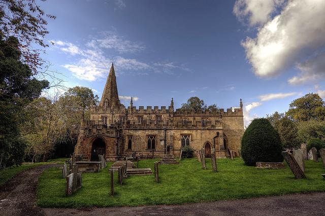 St Anne's Church, Baslow, Derbyshire.