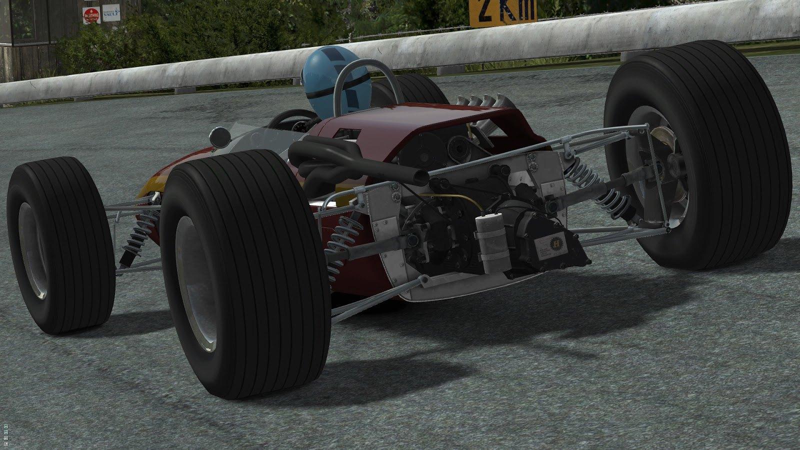 rFactor 2 - 1967 Formula 2 Mod