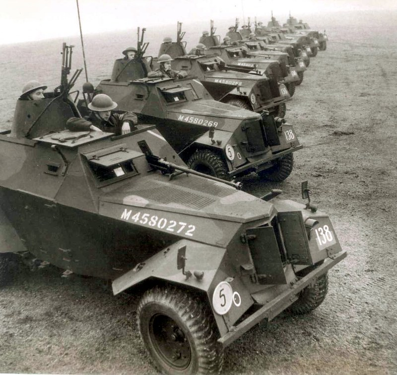 British Humber Scout Cars