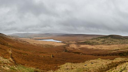 reservoir photograph moor cloudysky marsden