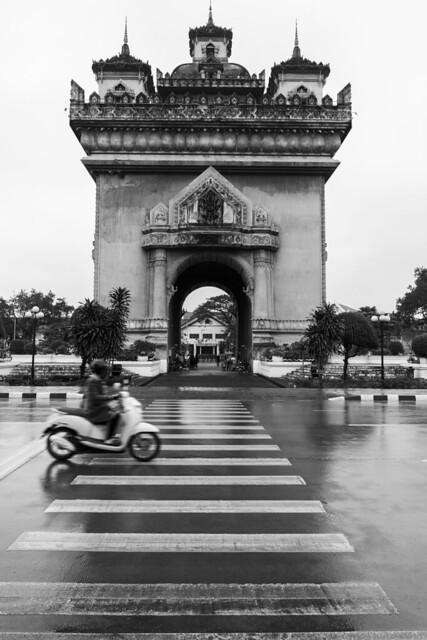 Patuxai, the Victory Gate  -  Laos's Arc de Triomphe