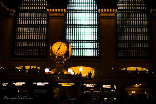 Grand Central Clock | by EnzopieroV