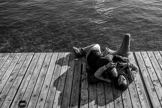 Lovers on the lake | by Geoffrey Etwein