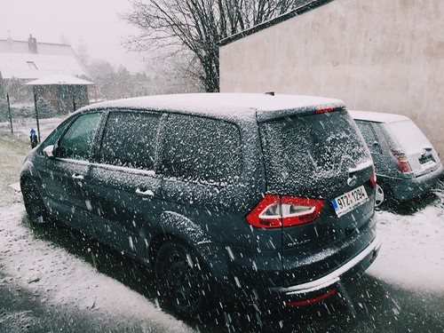 Baby Checkup and Snow in April (4/2/15)   by shaycam
