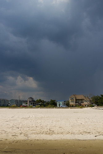 sea usa beach strand mississippi meer thunderstorm gewitter gulfport golfvonmexico