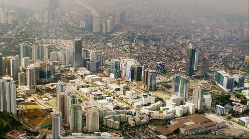 city building skyline architecture skyscraper cityscape philippines aerial manila makati stardex