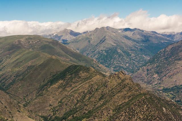 La Serra Mitjana des del cim del Cuco