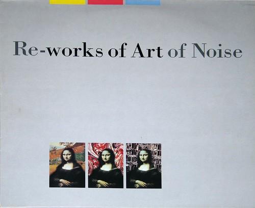 "ART OF NOISE RE-WORKS UK Pressing 12"" LP VINYL"