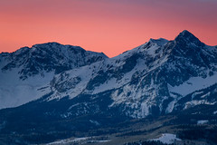 Sneffels Range at Sunrise