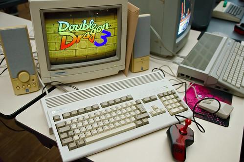 Double Dragon 3 sur Amiga 1200 | by zigazou76
