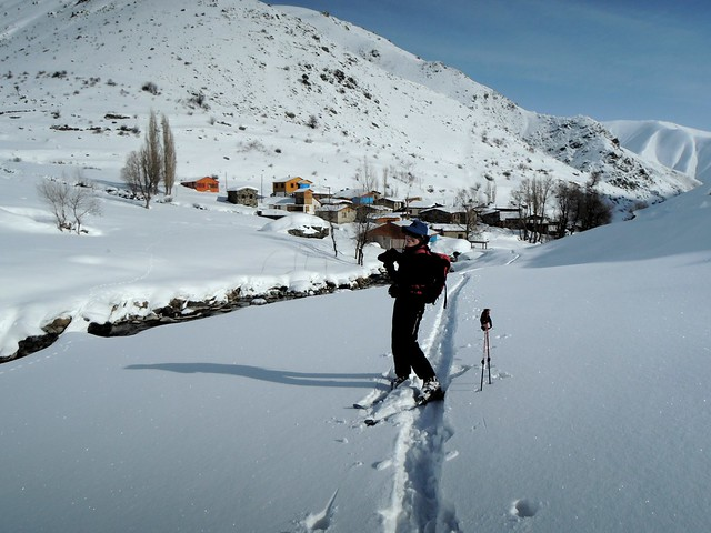Megan's first skiing in Turkey by bryandkeith on flickr