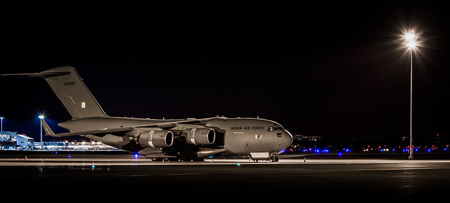 Indian Air Force C17 Globemaster III