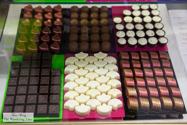 Some of the bonbons Wickedly Welsh makes