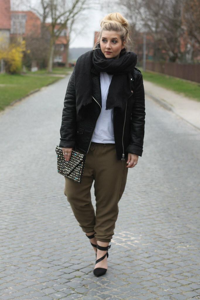 Shirt Outfit Newyorker Look Zara Justfab Asos Lederjacke G XZiPuk